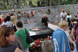 Kwatera wojskowa na Rossie i Mauzoleum Marszałka Józefa Piłsudskiego.