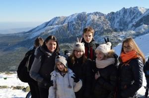 Zakopane - folklor góralski i górskie wędrówki po pięknych Tatrach, na zdjęciu widzianych z Kasprowego Wierchu.